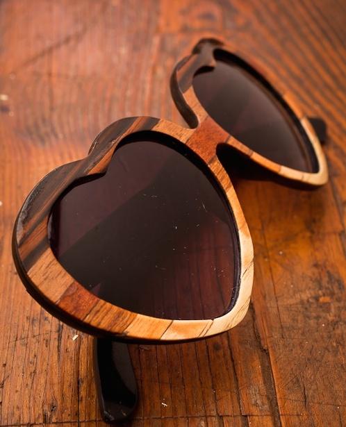 Lolita Ombre Wood Veneer Sunglasses by Tumbleweeds Handcraft for BourbonandBoots